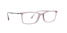 Ray Ban Rx - RX7031 Light Pink Rectangular Women Eyeglasses - 53mm