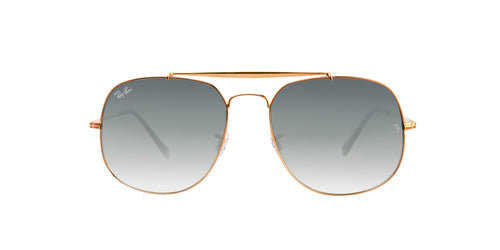 Ray Ban - RB3561 Bronze Oval Unisex Sunglasses - 57mm
