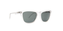 Spy - Hayes Crystal/Green Rectangular Men Sunglasses - 56mm