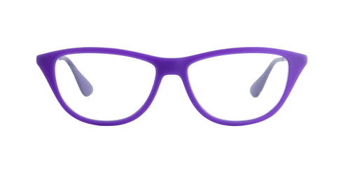 Ray Ban Rx - RX7042 Violet Cat Eye Women Eyeglasses - 54mm