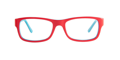 Ray Ban Rx - RX5268 Red/Blue Rectangular  Eyeglasses - 50mm