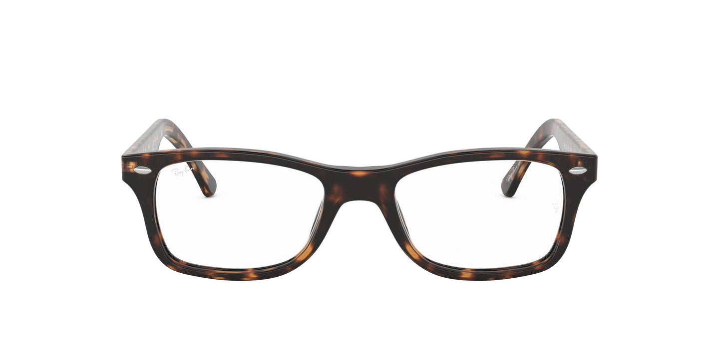 Ray Ban Rx - RX5228 Dark Havana Square Unisex Eyeglasses - 50mm