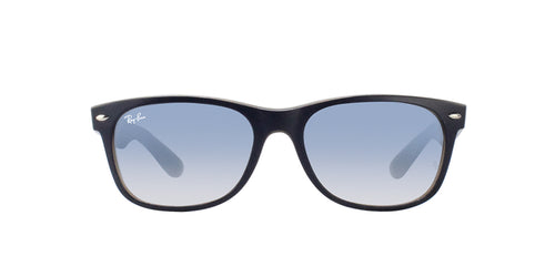 Ray Ban - New Wayfarer Blue Wayfarer Unisex Sunglasses - 55mm