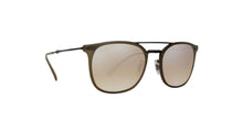 Ray Ban - RB4286 Brown Rectangular Unisex Sunglasses - 55mm