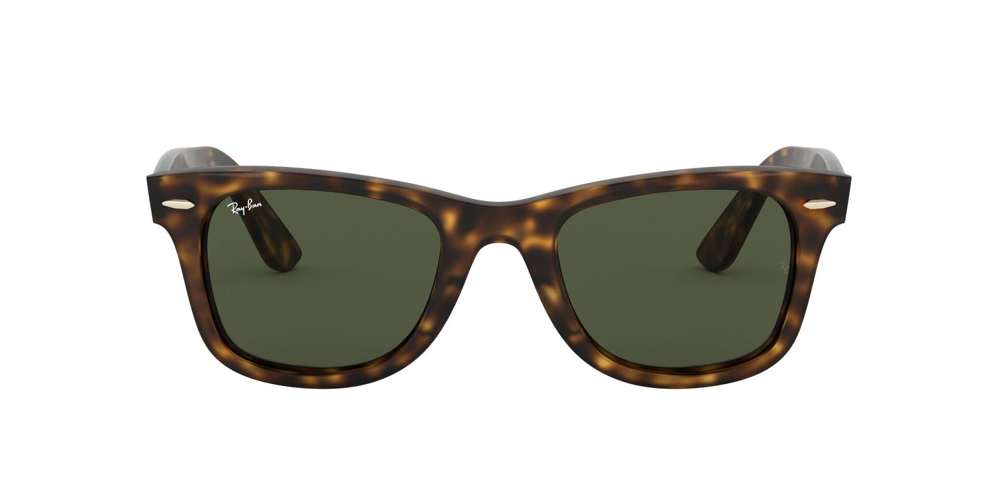 Ray Ban - RB4340 Tortoise/Green Wayfarer Unisex Sunglasses - 50mm
