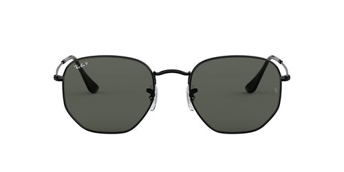 Ray Ban - RB3548N Black Irregular Unisex Sunglasses - 54mm