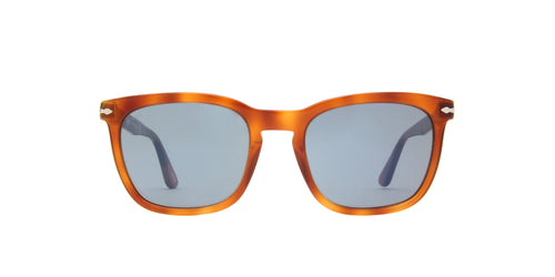 Persol - PO3193S Tortoise Rectangular Unisex Sunglasses - 55mm