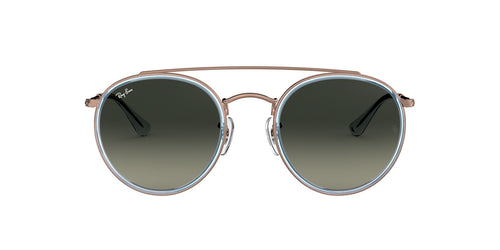 Ray Ban - RB3647N Bronze Oval Unisex Sunglasses - 51mm