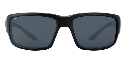 Costa Del Mar - Fantail Black/Gray Polarized Wrap Men Sunglasses - 60mm