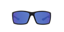 Costa Del Mar - Reefton Gray/Blue Mirror Polarized Rectangular Men Sunglasses