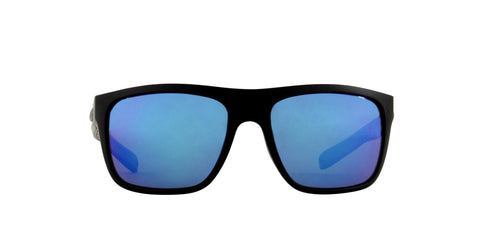 Costa Del Mar - Broadbill Matte Black/Blue Mirror Polarized Sport Men Sunglasses - 60.9mm