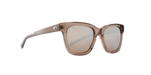 Costa Del Mar - Coquina Shiny Taupe Crystal/Gray Mirror Polarized Square Women Sunglasses - 56mm