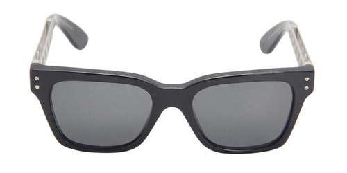 Retrosuperfuture - America Black Rectangular Women Sunglasses - 51mm