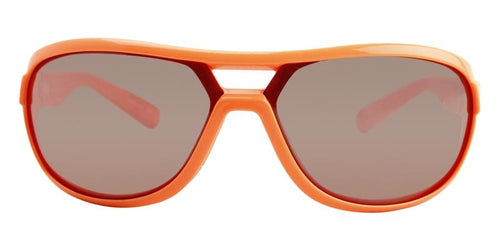 Nike Miler Orange / Silver Lens Mirror Sunglasses