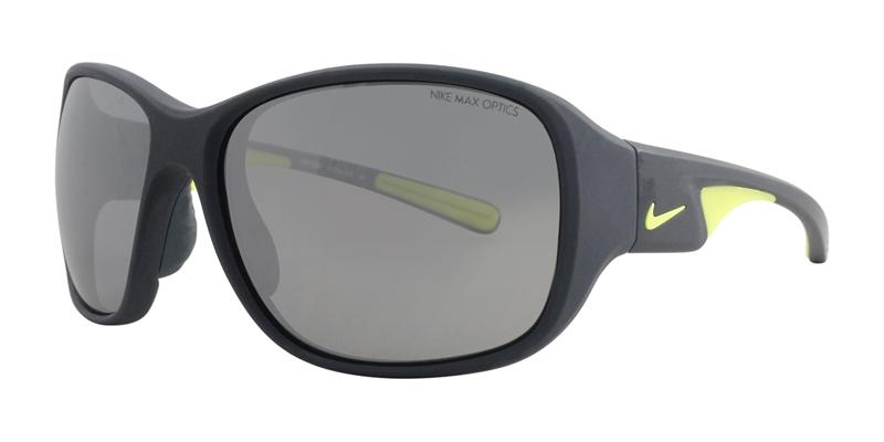 Nike Exhale Gray / Gray Lens Mirror Sunglasses