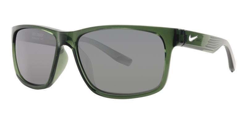 Nike Cruiser Green / Silver Lens Mirror Sunglasses