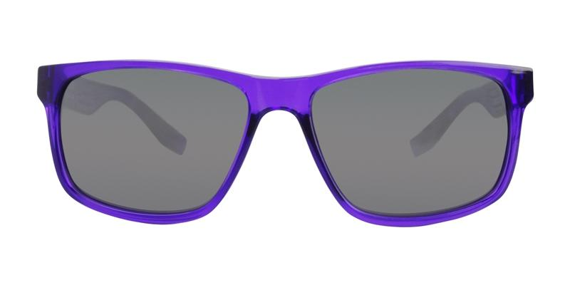 Nike Cruiser Purple / Gray Lens Mirror Sunglasses