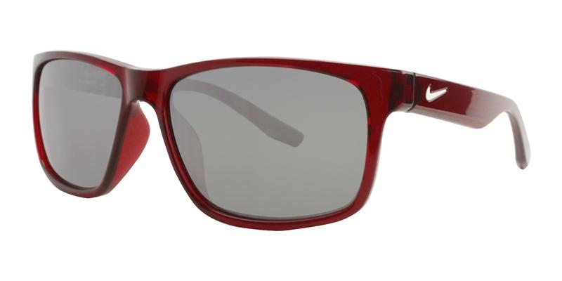 Nike Cruiser Red / Gray Lens Mirror Sunglasses