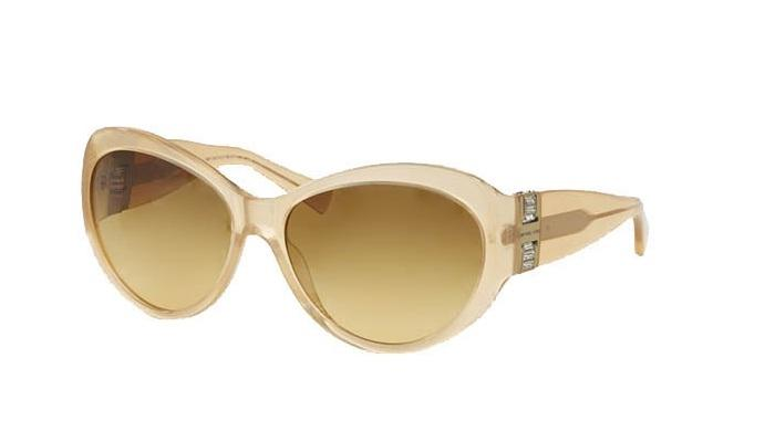Michael Kors - Paris Beige Oval Women Sunglasses - 60mm