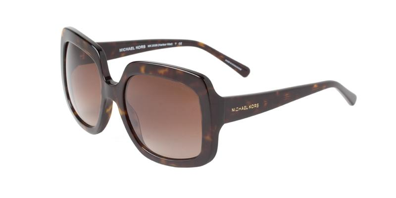 Michael Kors Harbor Mist Tortoise / Brown Lens Sunglasses