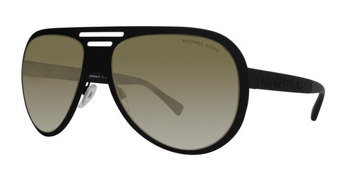 Michael Kors Clementine I Black / Gold Lens Mirror Sunglasses