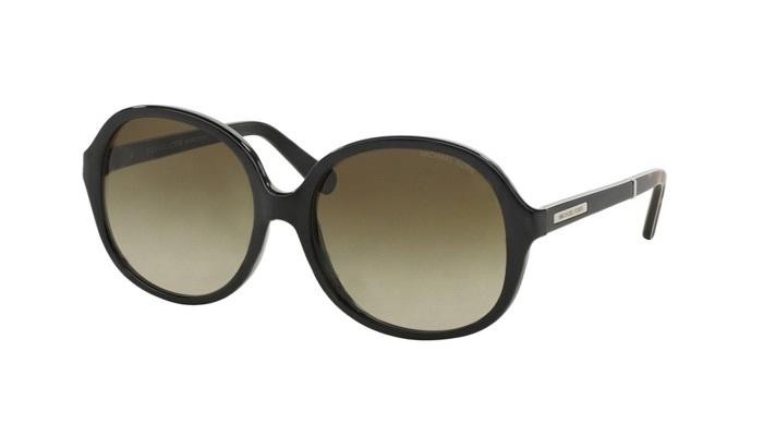 Michael Kors - Tahiti Black Oval Women Sunglasses - 58mm