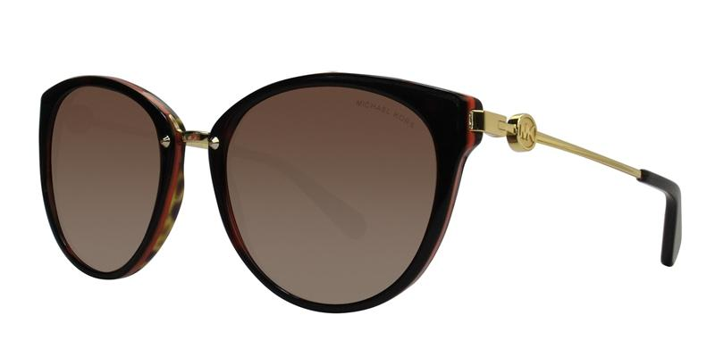 Michael Kors Abela III Tortoise / Brown Lens Sunglasses