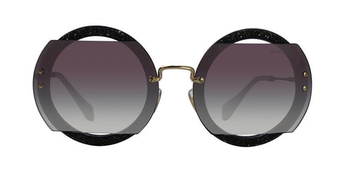 Miu Miu MU06SS Gold / Gray Lens Sunglasses