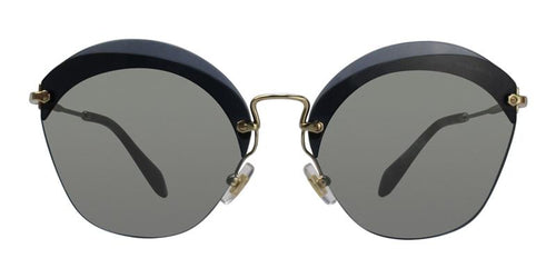 Miu Miu MU53SS Gold / Gray Lens Sunglasses