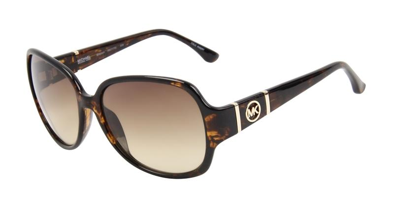 Michael Kors Women's Grayson M2777S Tortoise Frame/Brown Lens Butterfly 56mm Sunglasses