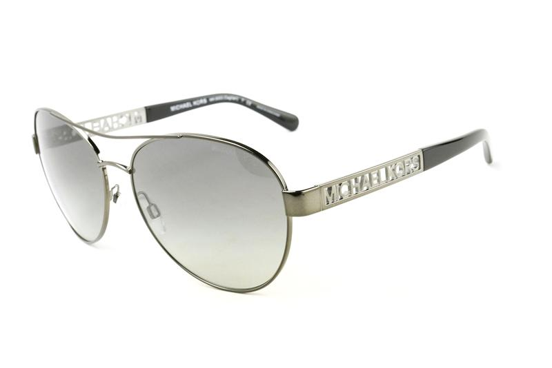 Michael Kors - Cagliari Gray Oval Women Sunglasses - 60mm