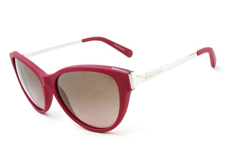 Michael Kors Women's Punte Arenas Red Pink / Brown Lens Sunglasses