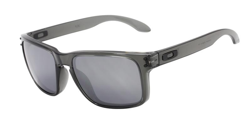 Oakley Holbrook Gray / Silver Lens Mirror Sunglasses