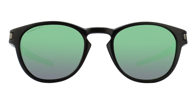 Oakley - OO9265 Black Oval Unisex Sunglasses - 53mm