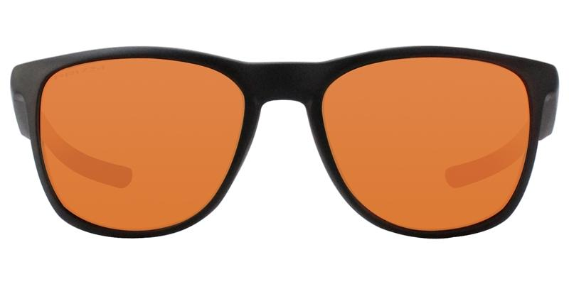Oakley - Trillbe X Black/Red Rectangular Unisex Sunglasses - 52mm