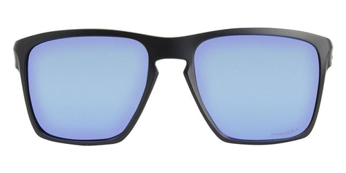 e6473cba38 Oakley Sliver Black   Blue Lens Mirror Sunglasses