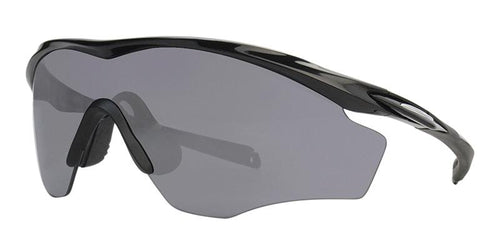 Oakley M2 Frame XL Black / Gray Lens Mirror Sunglasses