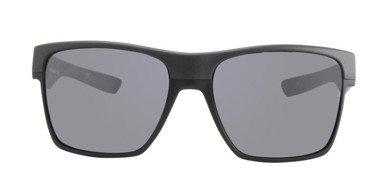 Oakley - TwoFace XL Black/Gray Rectangular Men Sunglasses - 59mm
