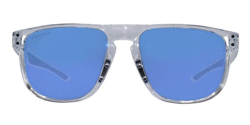 Oakley Holbrook R Clear / Blue Lens Mirror Polarized Sunglasses