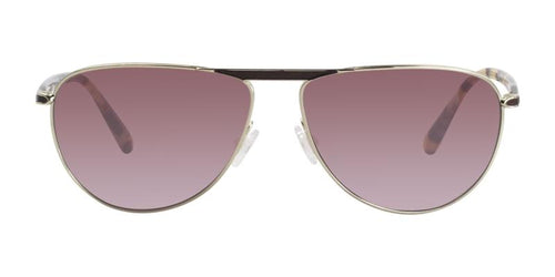 Oliver Peoples Conduit Gold Tortoise / Red Lens Sunglasses