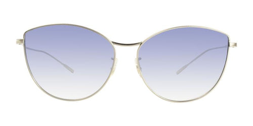 Oliver Peoples Rayette Gold / Blue Lens Sunglasses