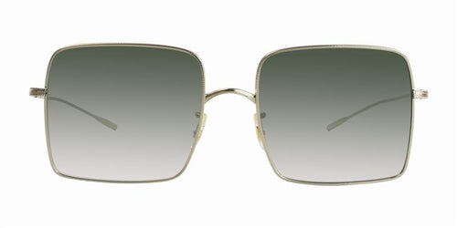 Oliver Peoples Rassine Gold / Green Lens Sunglasses