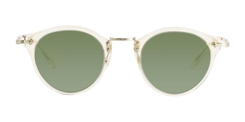 cbd2e2d4cf Oliver Peoples OP-505 Sun Gold   Green Lens Sunglasses – shadesdaddy