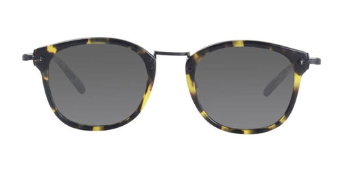 Oliver Peoples OP-506 Sun Tortoise / Gray Lens Sunglasses