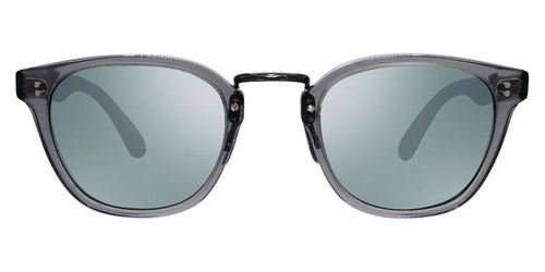 Oliver Peoples Lerner Gray / Green Lens Sunglasses