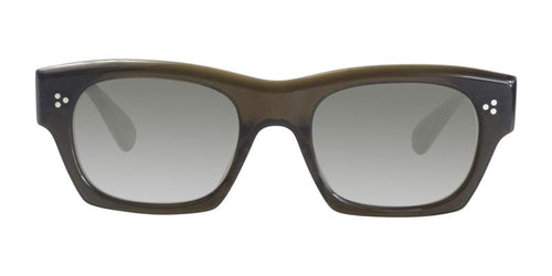 Oliver Peoples Isba Brown / Gray Lens Mirror Sunglasses