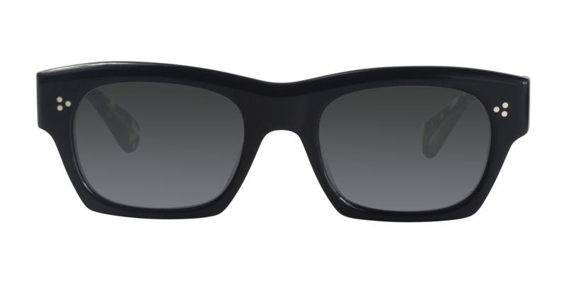 Oliver Peoples Isba Black / Gray Lens Sunglasses