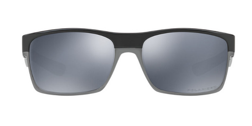 4b256f9ee93 Oakley TwoFace Polished black Grey Sunglasses