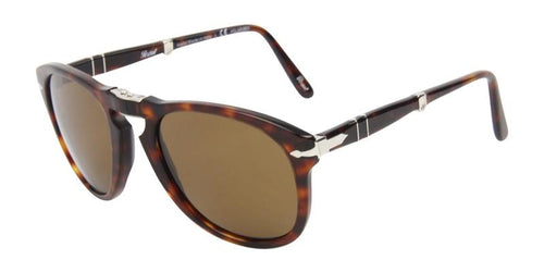Persol Men's PO0714 Tortoise / Brown Lens Sunglasses