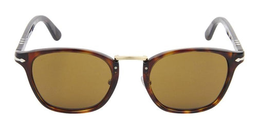 Persol Typewriter Edition Tortoise / Brown Lens Sunglasses